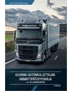 Kuorma-autonkuljettajan Ammattipätevyyskirja + C1- ja C-ajokorttiopetus